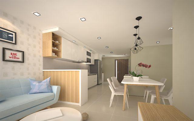 [Dự án] Căn hộ chung cư 2 phòng ngủ Happy Valley - Phú Mỹ Hưng