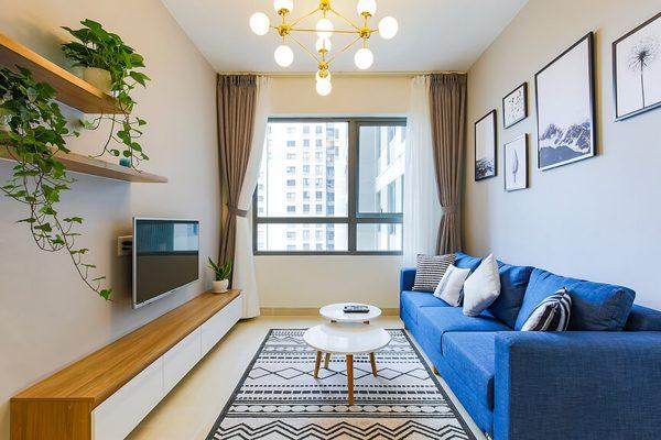 Thiết kế nội thất căn hộ Masteri 1 phòng ngủ