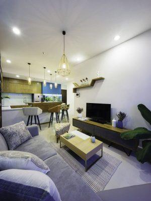 Thiết kế nội thất chung cư 45m2 cho chàng độc thân