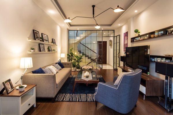 Cải tạo nội thất căn nhà phố 2 tầng hiện đại